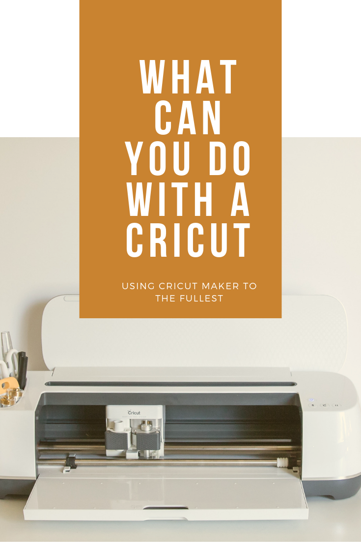 What can you do with a Cricut Maker? ~ Crafty with a Chance